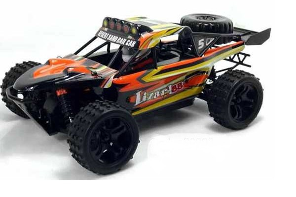 Автомобиль HSP Lizard BB Dune Buggy 4WD 1:18 EP (RTR Version) Желтый (94810)