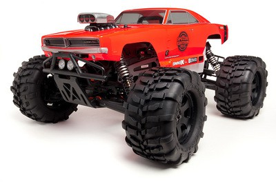 Автомобиль HPI Savage X 4.6 Dodge Charger Special Edition Nitro 4WD 1:8 2.4 GHz (RTR Version) 101736