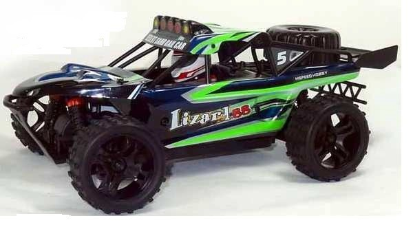 Автомобиль HSP Lizard BB Dune Buggy 4WD 1:18 EP (RTR Version) Зелёный (94810)