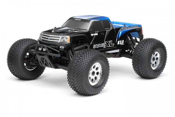 Автомобиль HPI Savage XL 5.9 Nitro Gigante 4WD 1:8 2.4GHz (Blue RTR Version) 104246 (104248)