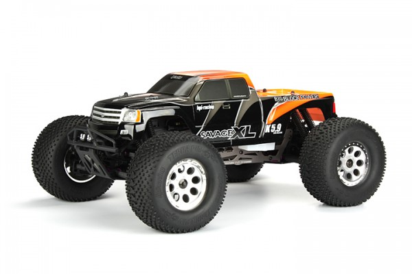 Автомобиль HPI Savage XL 5.9 Nitro Gigante 4WD 1:8 2.4GHz (Orange RTR Version) 104246 (104248)