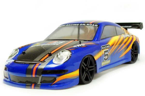 Автомобиль HSP Magician Touring Car 4WD 1:18 EP (RTR Version) Синий (94802)