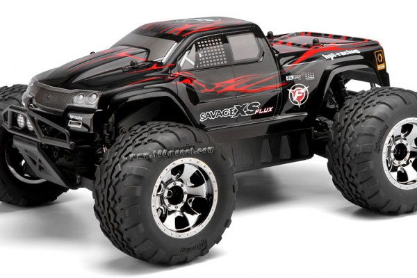 Автомобиль HPI Savage XS Flux 4WD 1:10 EP 2.4GHz (RTR Version) 106571 (106572)