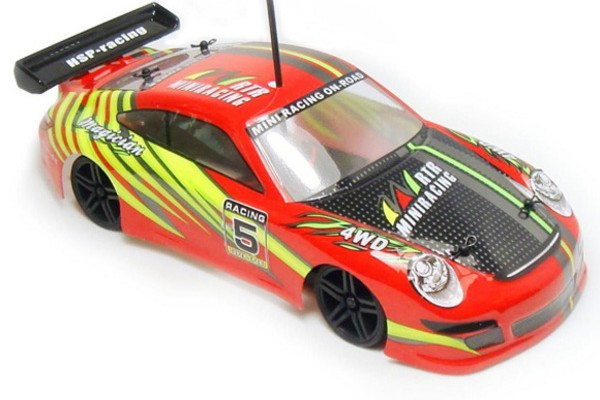 Автомобиль HSP Magician Touring Car 4WD 1:18 EP (RTR Version) Красный (94802)