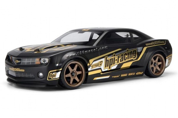 Автомобиль HPI Sprint 2 Drift 2010 Chevrolet Camaro 4WD 1:10 EP 2.4 GHz (RTR Version) 106149 (106152)
