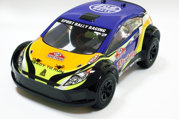 Автомобиль HSP Reptile Rally Car 4WD 1:18 EP (RTR Version) 94808
