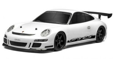 Автомобиль HPI Sprint 2 Flux Porsсhe 911 GT3 RS 4WD 1:10 2.4GHz EP (White RTR Version) 106165