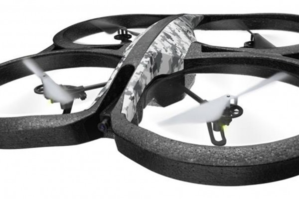 Квадрокоптер Parrot AR.Drone 2.0 Elite Edition Snow Белый PF721821BI