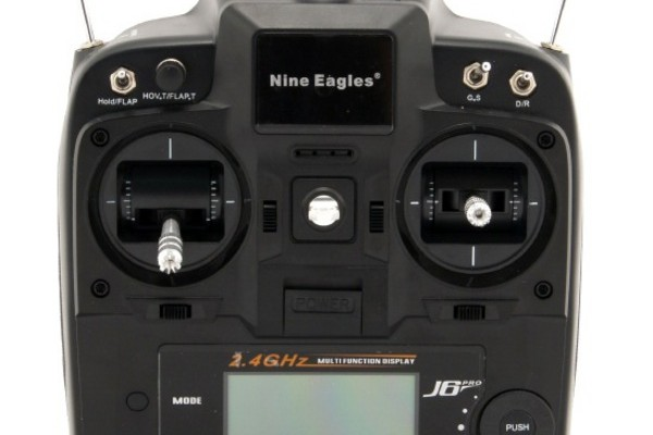 Передатчик Nine Eagles J6 PRO 6CH 2.4GHz (Mode1/2) NE30300824201019A