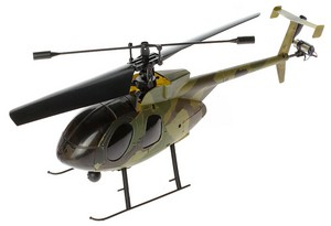 Вертолет Nine Eagles Bravo SX 2.4 GHz (Camouflage RTF Version) (NE R/C 320A) NE30232024211001A Камуфляж