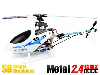 Вертолет Skyartec NINJA 300-400 3D 2.4 GHz (White RTF Version) HN400-3 Белый