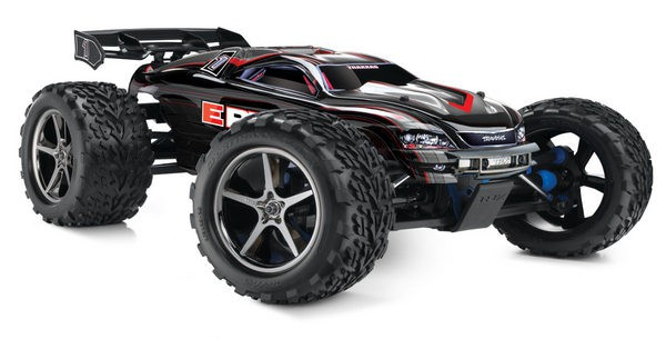 Автомобиль Traxxas E-Revo Brushless 4WD 1:10 EP TQi 2.4Ghz (Black RTR Version) 5608