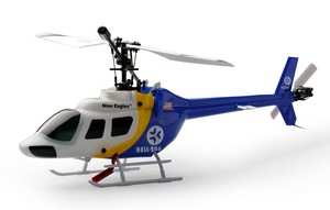 Вертолет Nine Eagles Bell 206 2.4 GHz (Blue RTF Version) (NE R/C 328A) NE30232824206014A Синий