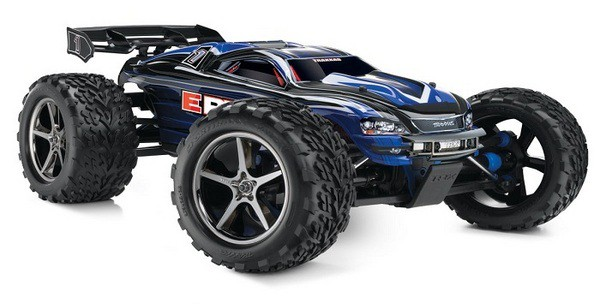 Автомобиль Traxxas E-Revo Brushless 4WD 1:10 EP TQi 2.4Ghz (Blue RTR Version) 5608