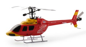 Вертолет Nine Eagles Bell 206 2.4 GHz (Red RTF Version) (NE R/C 328A) NE30232824207028A Красный