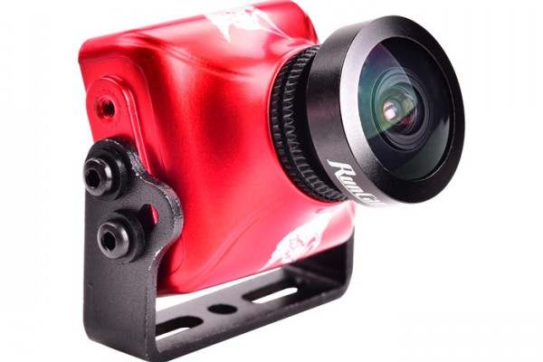 "RunCam Eagle2 (Red) 800TVL 4:3 L2.5mm 140° Global WDR 5-36V 1/1.8"" CMOS FPV Camera"