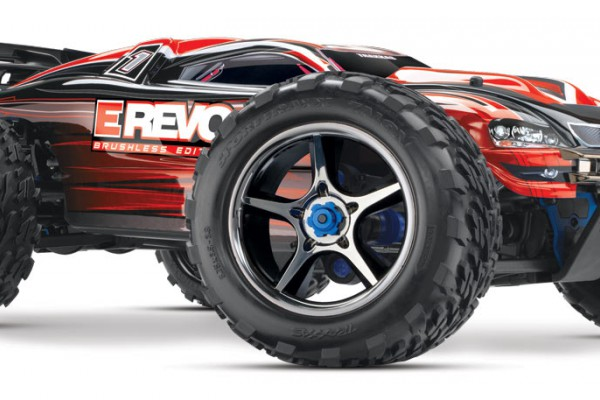 Автомобиль Traxxas E-Revo Brushless 4WD 1:10 EP TQi 2.4Ghz (Red RTR Version) 5608