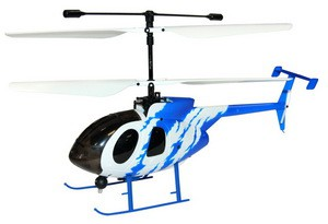 Вертолет Nine Eagles Bravo III 2.4 GHz в кейсе (White-Blue RTF Version) (NE R/C 312A) NE30231224205 Бело-синий