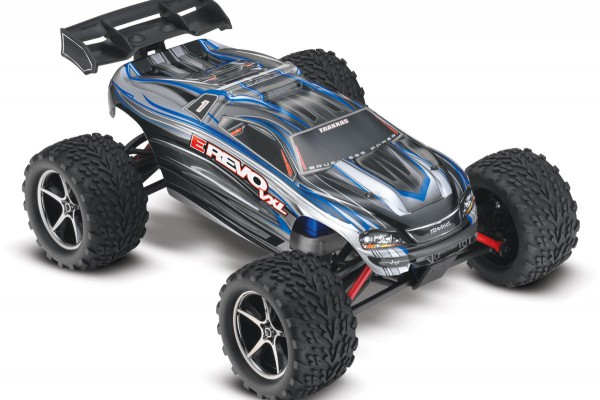 Автомобиль Traxxas E-Revo Brushless 4WD 1:10 EP TQi 2.4Ghz (Silver RTR Version) 5608