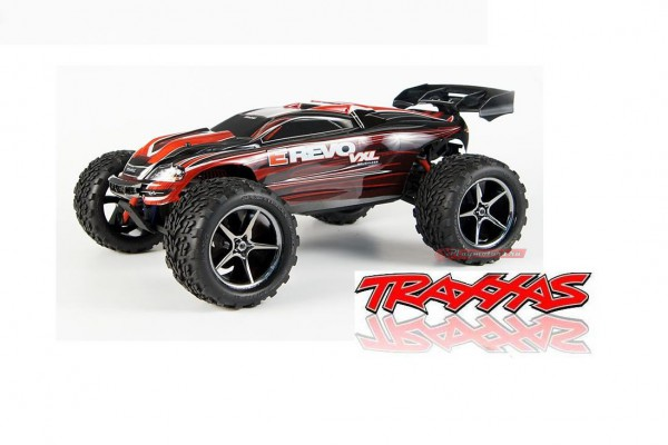 Автомобиль Traxxas E-Revo VXL Brushless 4WD 1:16 2.4Ghz (Red RTR Version) 7107