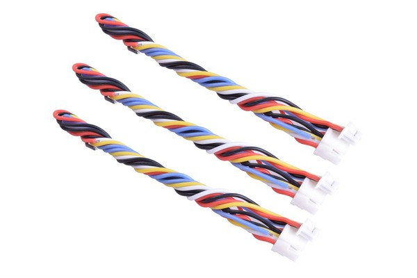 RunCam 5-pin Cables for TBS UNIFY PRO HV/RACE 3pcs [RC-HY-5PCABLE]