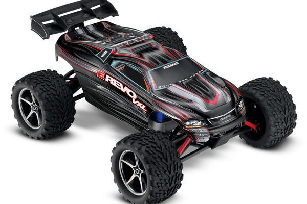 Автомобиль Traxxas E-Revo VXL Brushless 4WD 1:16 2.4Ghz (RTR Version) 7107 Black