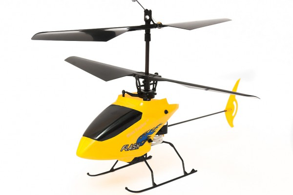 Вертолет Nine Eagles Flash 2.4 GHz в кейсе (Yellow RTF Version) (NE R/C 210A) NE30221024245 Желтый