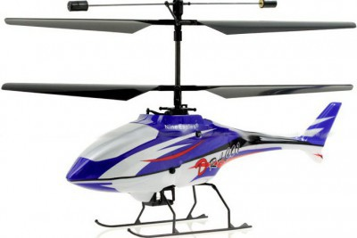 Вертолет Nine Eagles Draco 2.4 GHz в кейсе (Blue RTF Version) (NE R/C 210A) NE30221024206002A Синий