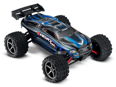 Автомобиль Traxxas E-Revo VXL Brushless 4WD 1:16 2.4Ghz (RTR Version) 7107 Blue