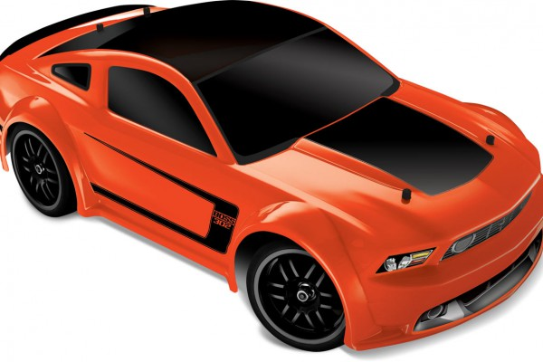 Автомобиль Traxxas Ford Mustang Boss 302 XL-2.5 4WD 1:16 EP (Orange RTR Version) 7303