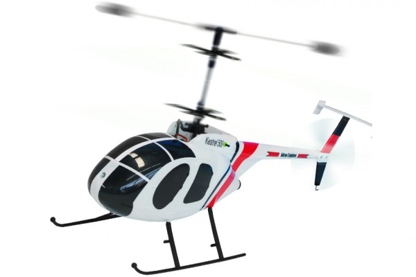 Вертолёт Nine Eagles Kestrel 500 2.4 GHz (White RTF Version) NE30220824215 Белый