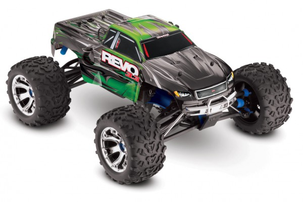 Автомобиль Traxxas Revo 3.3 Nitro 4WD 1:10 2.4Ghz (RTR Version) 5309 Green