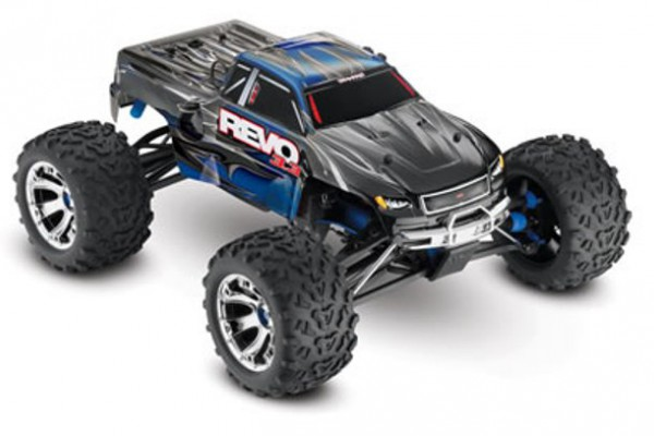 Автомобиль Traxxas Revo 3.3 Nitro 4WD 1:10 2.4Ghz (RTR Version) 5309 Blue