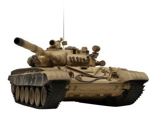 Танк VSTANK PRO Russian Army Tank T72 M1 1:24 Airsoft (Desert RTR Version) A02105699 пустынный камуфляж