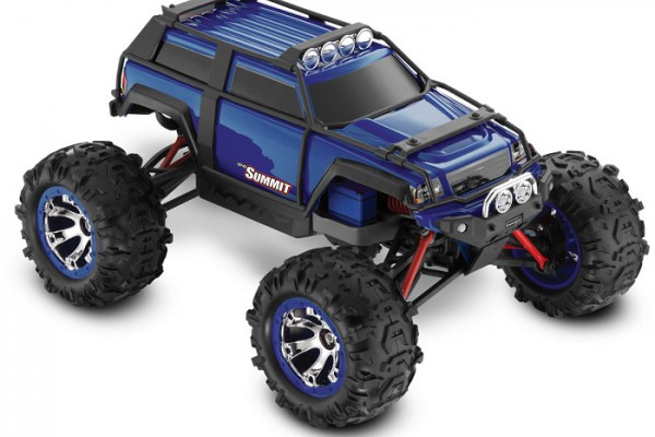 Автомобиль Traxxas Summit 4WD 1:10 EP 2.4Ghz (Blue RTR Version) 5607 Blue
