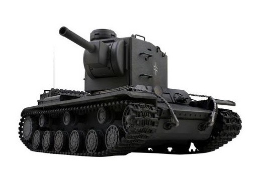 Танк VSTANK PRO German Pz.754(r) 1:24 IR (Grey RTR Version) A02107252 серый