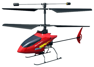 Вертолет Nine Eagles Solo 2.4 GHz в кейсе (Red RTF Version) (NE R/C 210A) NE30221024246 Красный