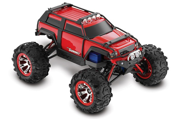 Автомобиль Traxxas Summit 4WD 1:10 EP 2.4Ghz (Red RTR Version) 5607 Red