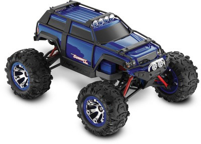 Автомобиль Traxxas Summit VXL Brushless 4WD 1:16 EP 2.4Ghz (Blue RTR Version) 7207