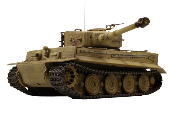 Танк VSTANK PRO German Tiger I LP 1:24 Airsoft (Desert RTR Version) A03101679 пустынный камуфляж