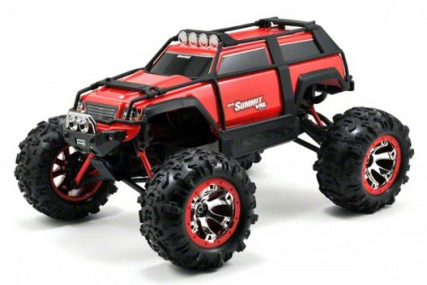 Автомобиль Traxxas Summit VXL Brushless 4WD 1:16 EP 2.4Ghz (Red RTR Version) 7207