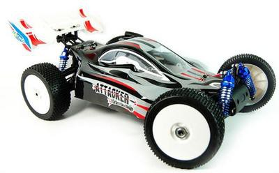 Автомобиль ACME Racing Attacker 4WD 1:8 2.4GHz Nitro (RTR Version) A3017T
