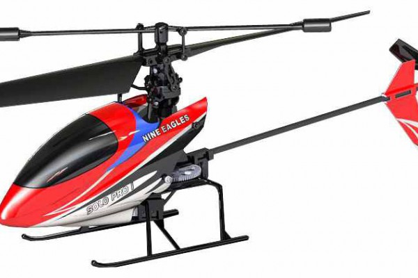Вертолет Nine Eagles Solo PRO I 2.4 GHz в кейсе (Red RTF Version) (NE R/C 260A) NE30226024217 Красный