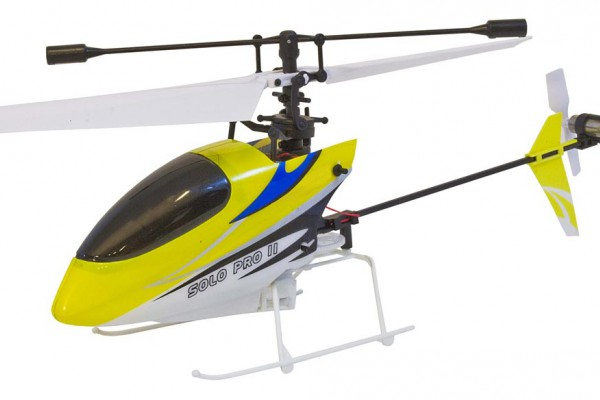 Вертолет Nine Eagles Solo PRO II 2.4 GHz в кейсе (Yellow RTF Version) (NE R/C 260A) NE30226024218 Желтый