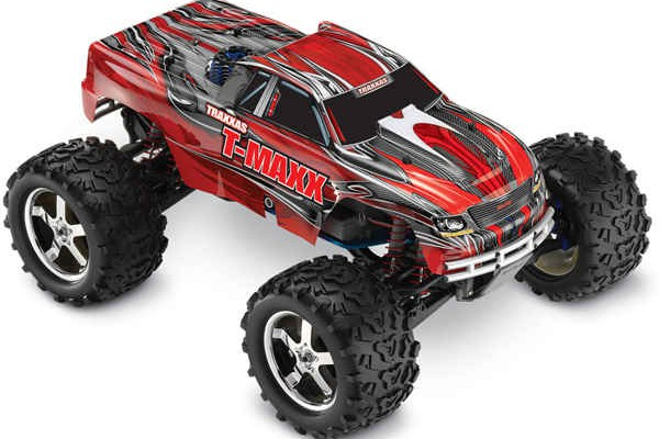 Автомобиль Traxxas T-Maxx 3.3 Nitro 4WD 1:10 2.4Ghz (RTR Version) 4907 Red