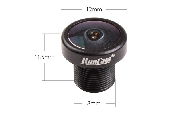 RunCam RC21M Lens M8 2.1mm for Racer, Swift Micro 1/2/3