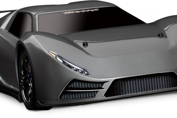 Автомобиль Traxxas XO-1 Supercar Brushless 4WD 1:7 TQi 2.4Ghz (Black RTR Version) 6407