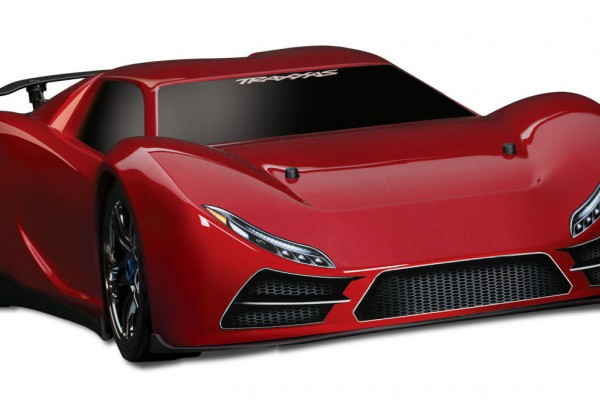 Автомобиль Traxxas XO-1 Supercar Brushless 4WD 1:7 TQi 2.4Ghz (Red RTR Version) 6407