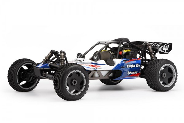 Автомобиль HPI Baja 5B 2.0 5B-1 2WD Buggy 1:5 2.4Ghz Бензин (Blue RTR Version) 103861