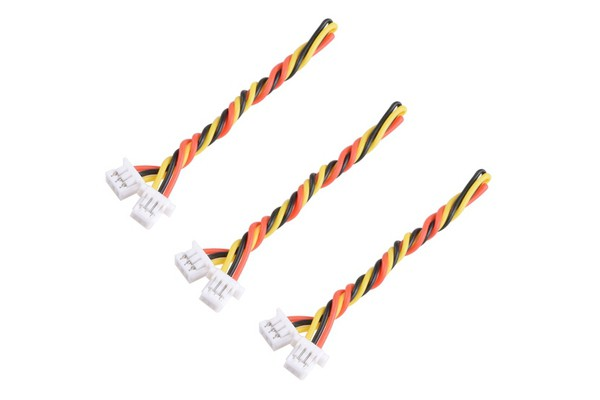 RunCam 3-pin Cables 1.25 to 1.00mm for Swift Micro 3pcs [RC-SMI-CABLE]